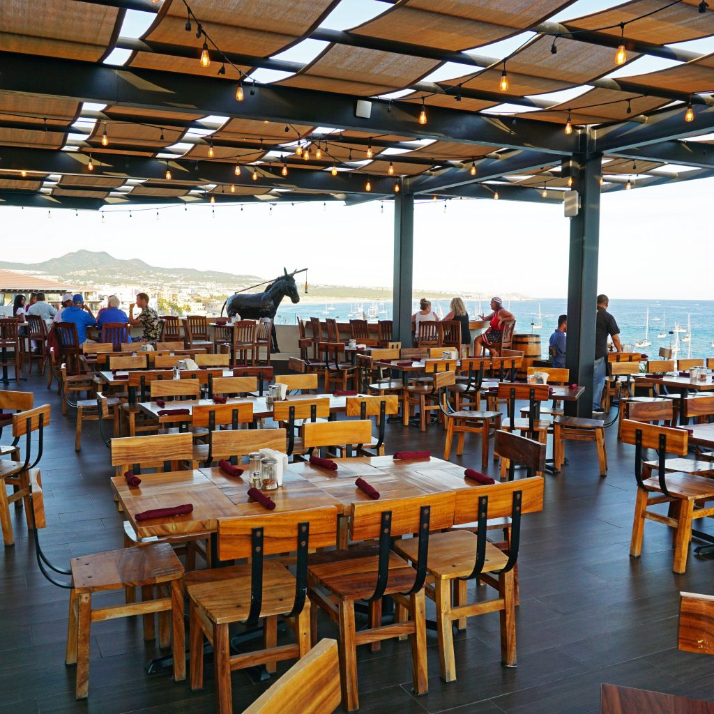 Baja Brewery on Medano Beach is one of the top 15 restaurants in Cabo